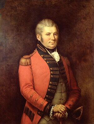 Portrait of Simcoe by George Theodore Berthon, 1881