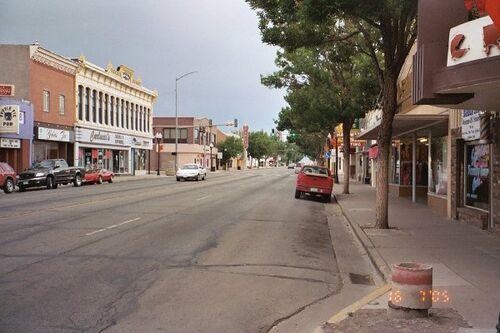 Alamosa downtown