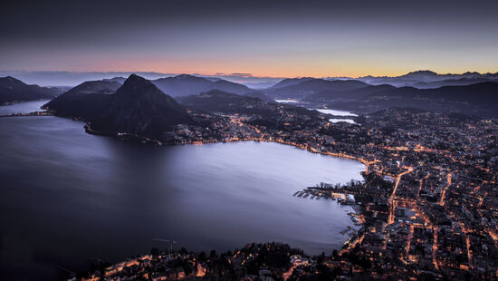 Beautiful gorgeous Lugano