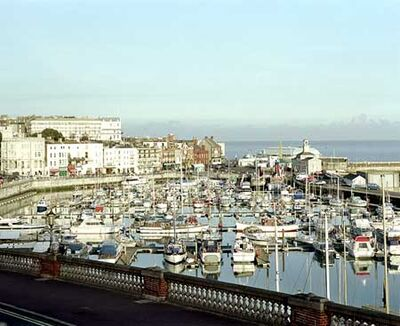 Boats at Ramsgate Harbour