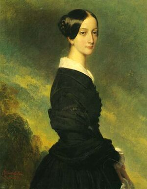 Francisca of Brazil by Franz Xavier Winterhalter