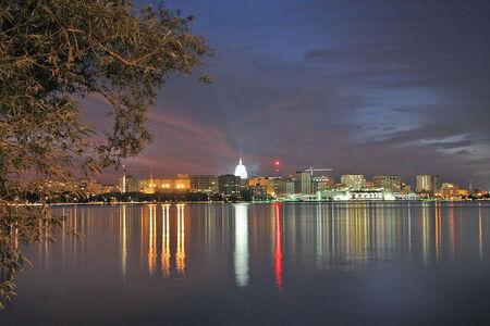 Madison Wisconsin night