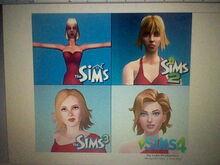 The Sims 1 The Sims 2 The Sims 3 The Sims 4-0