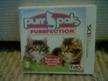 3DS Purr Pals Purrfetion