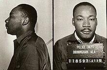 MLK mugshot birmingham