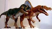 T Rex vs. Spinosaurus