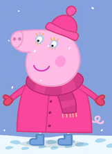 Aunty Pig Winter Clothes