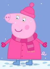 Тётя Свинка зимняя одежда