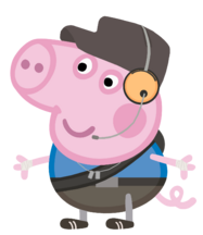 Geroge Pig (The Scout)