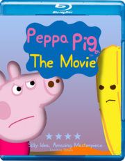 Peppa Pig The Movie Blu Ray