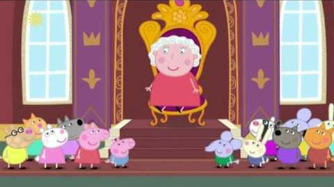 Video - Peppa Pig Season 4 Episode 27 The Queen | Peppa Pig