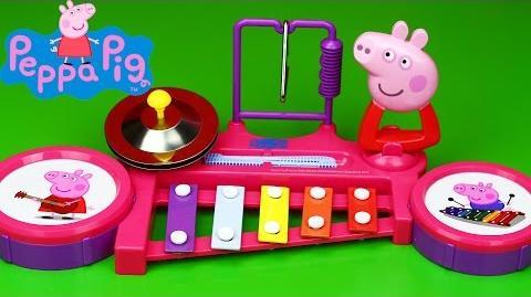 Peppa Pig Peppa's Band Station