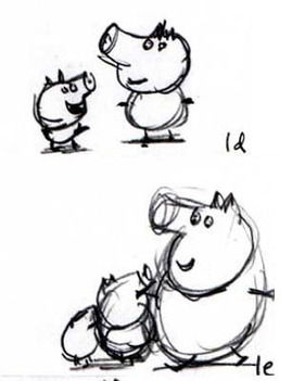 Development. 175402 1. 175402 1. Sketches Of Peppa Pig