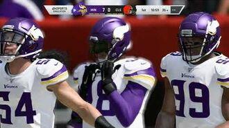 Madden NFL 20 - Minnesota Vikings vs Cleveland Browns