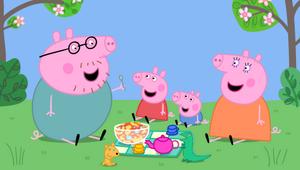 Peppa en picnic