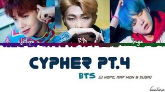 BTS (방탄소년단) – 'CYPHER PT.4' Lyrics -Color Coded Han Rom Eng-