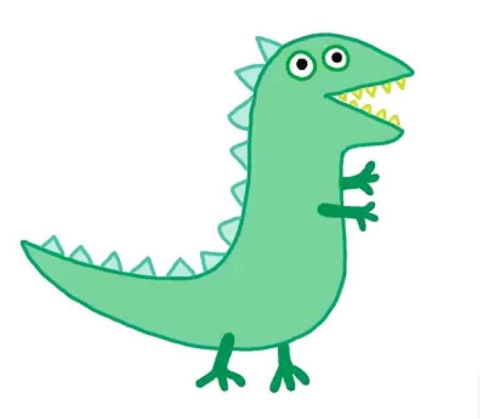 George's dinosaur | Peppa Pig Fanon Wiki | FANDOM powered ...