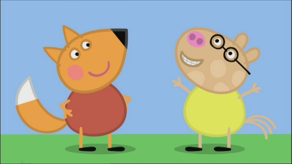 Freddy Raposo Personagem Wiki Peppa Pig Fandom