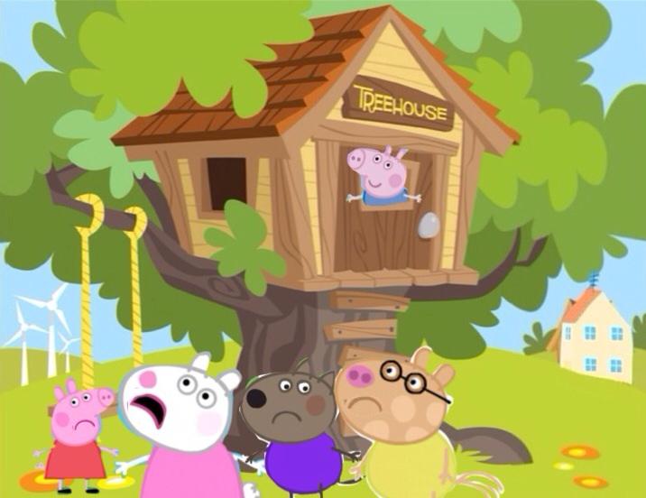 George in the Treehouse   Peppa Pig Fanon Wiki   FANDOM