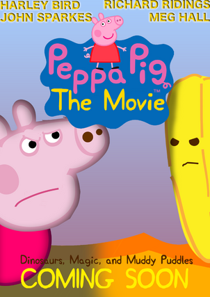 Peppa Pig The Movie Poster