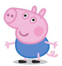 Image result for peppa pig george