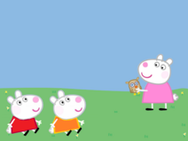 Sizzy And Sarah Sheep With Suzy Sheep