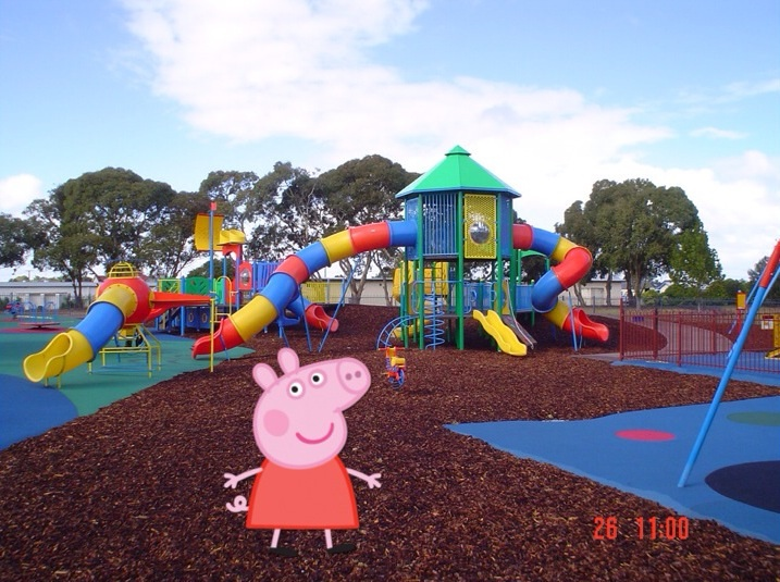 Peppa Goes To A Real Life Playground Peppa Pig Fanon Wiki Fandom
