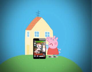 Peppa Pig's Freaky Pet Pic