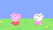 Peppa and Suzy as babies