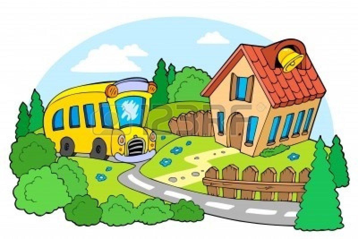 image school building clipart 7469551 landscape with school jpg rh peppafanon wikia com landscaping clip art images landscape clipart images free