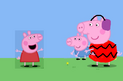 Peppa playing games with george and trevor