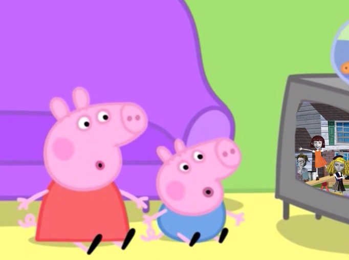 The Scary Program Peppa Pig Fanon Wiki Fandom Powered By Wikia