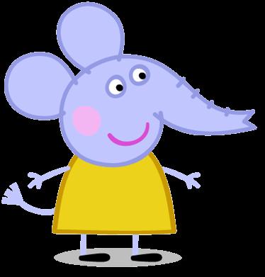 Resultado de imagen para peppa pig personajes emilia