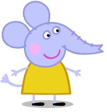 Image result for peppa pig emily elephant
