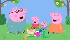 Peppa y su familia (Portada)