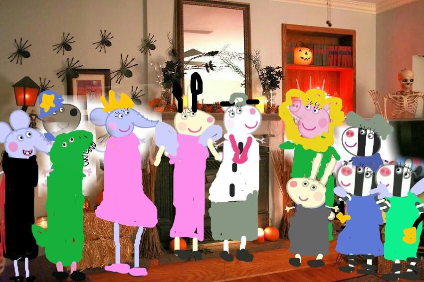 Peppa's Halloween Party 2017 | Peppa Pig Fanon Wiki | FANDOM ...
