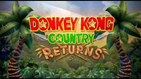 Donkey Kong Country Returns - Rocket Barrel 1