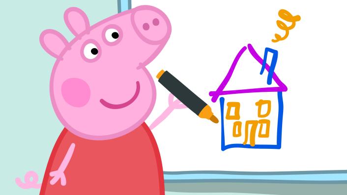 Peppa Pigs Daddy Pig Bcma