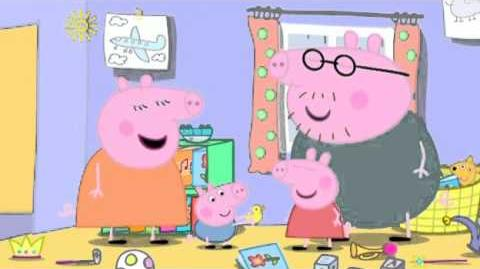 Peppa Pig Season 4 Episode 9 The Rainy Day Game