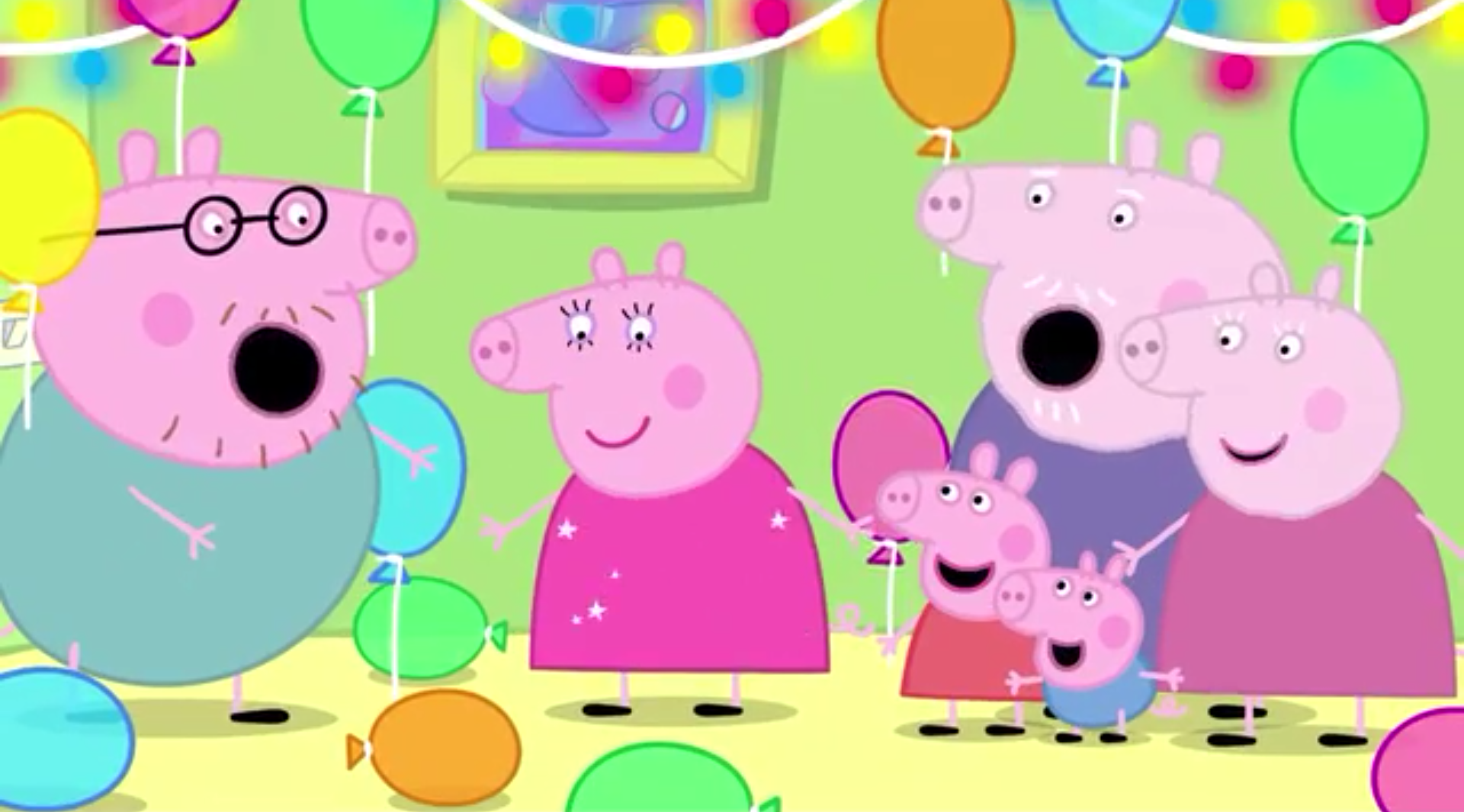Image - Mummy Pig holding George.png   Peppa Pig Fanon Wiki ...