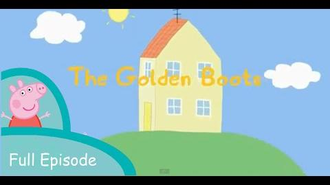 "Peppa Pig the golden boots part one - Full ""Peppa Gold Shoes"""