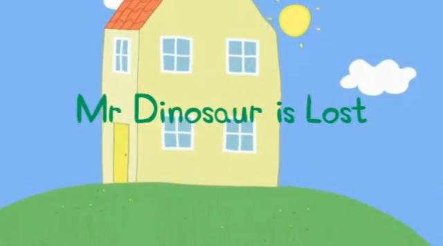 Mr  Dinosaur is Lost | Peppa Pig Wiki | FANDOM powered by Wikia