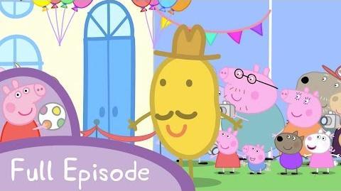Mr. Potato Comes to Town