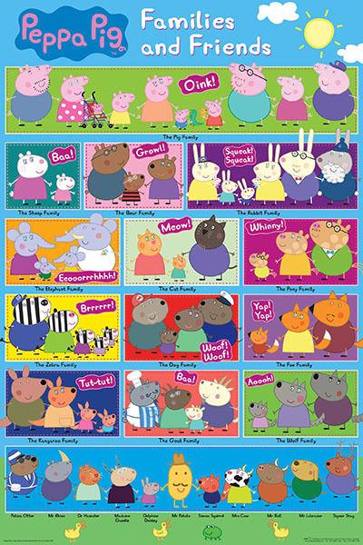 List Of Characters Peppa Pig Wiki Fandom Powered By Wikia