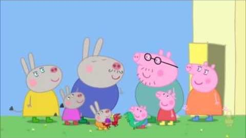 """Daddy Pig is an """"expert"""" at French"""