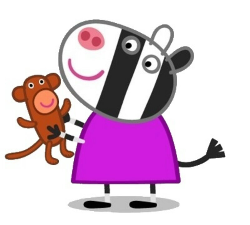 Zoë Zebra Peppa Pig Wiki Fandom Powered By Wikia