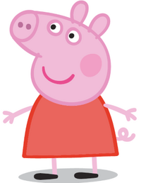 Animated character Peppa Pig