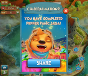 Pepper Panic Saga completed