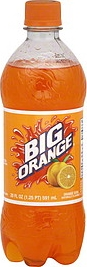 A Big Orange Bottle