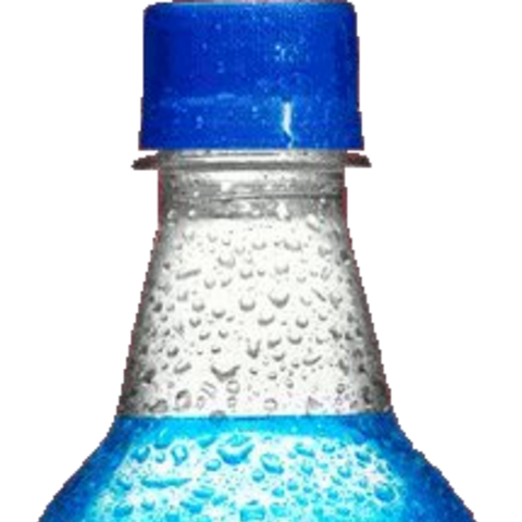 A Big Blue bottle used from the 2000s to 2011.